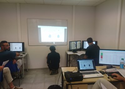 séance simulateur Machine